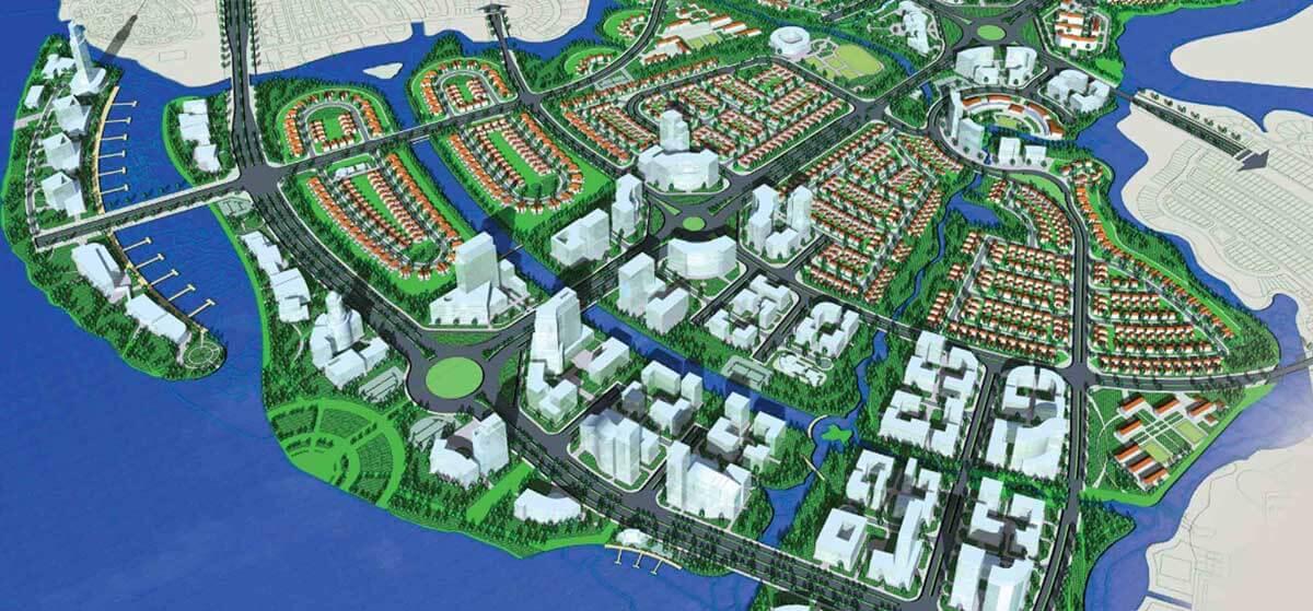 Thiết kế dự án khu đô thị Spring Waterfront City Biên Hòa Đồng Nai