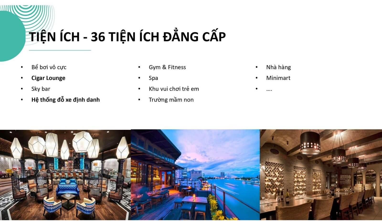 Tiện ích dự án căn hộ cao cấp The 6Nature Đà Nẵng