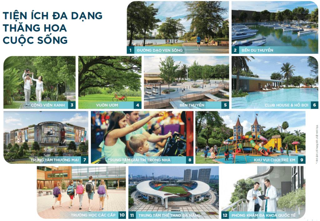 Tiện ích dự án khu đô thị Spring Waterfront City Biên Hòa Đồng Nai